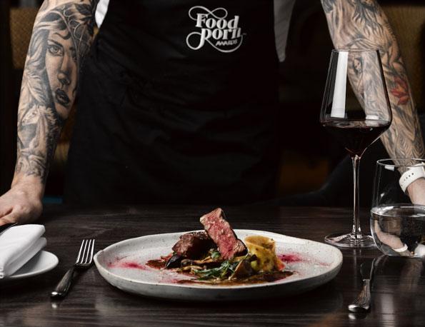 food porn chef
