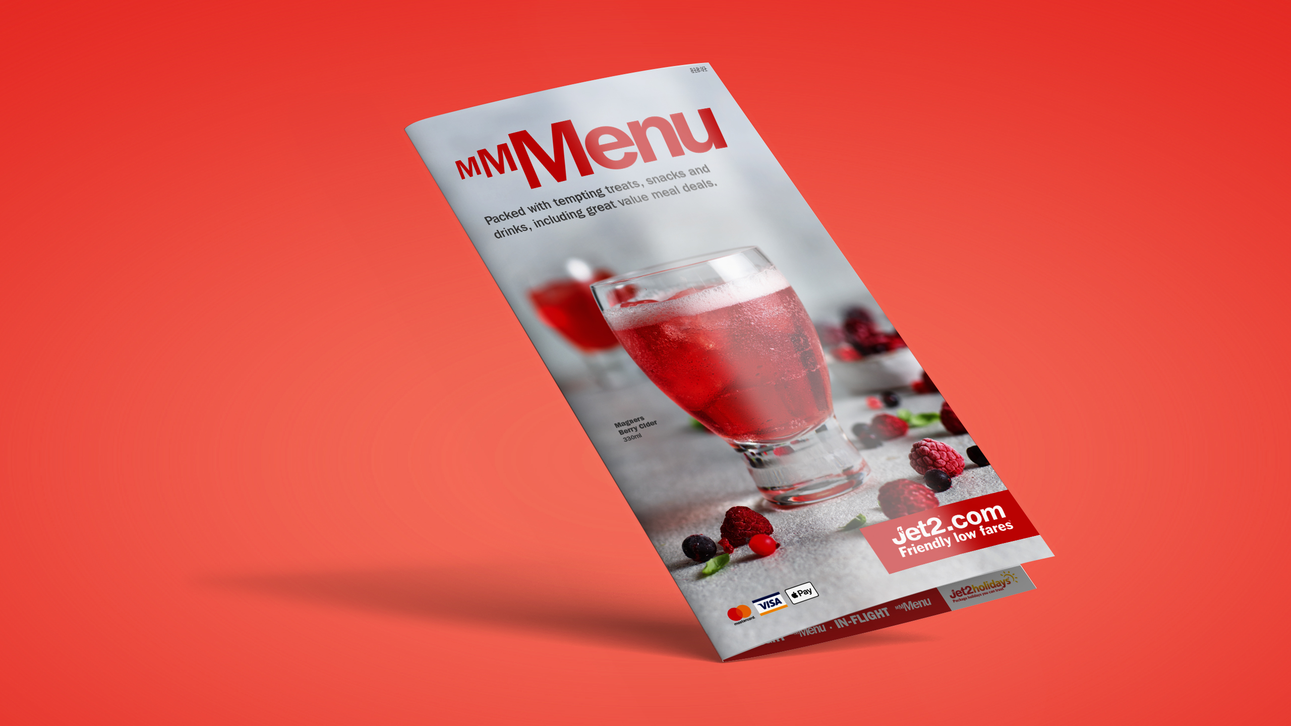 Jet2 menu