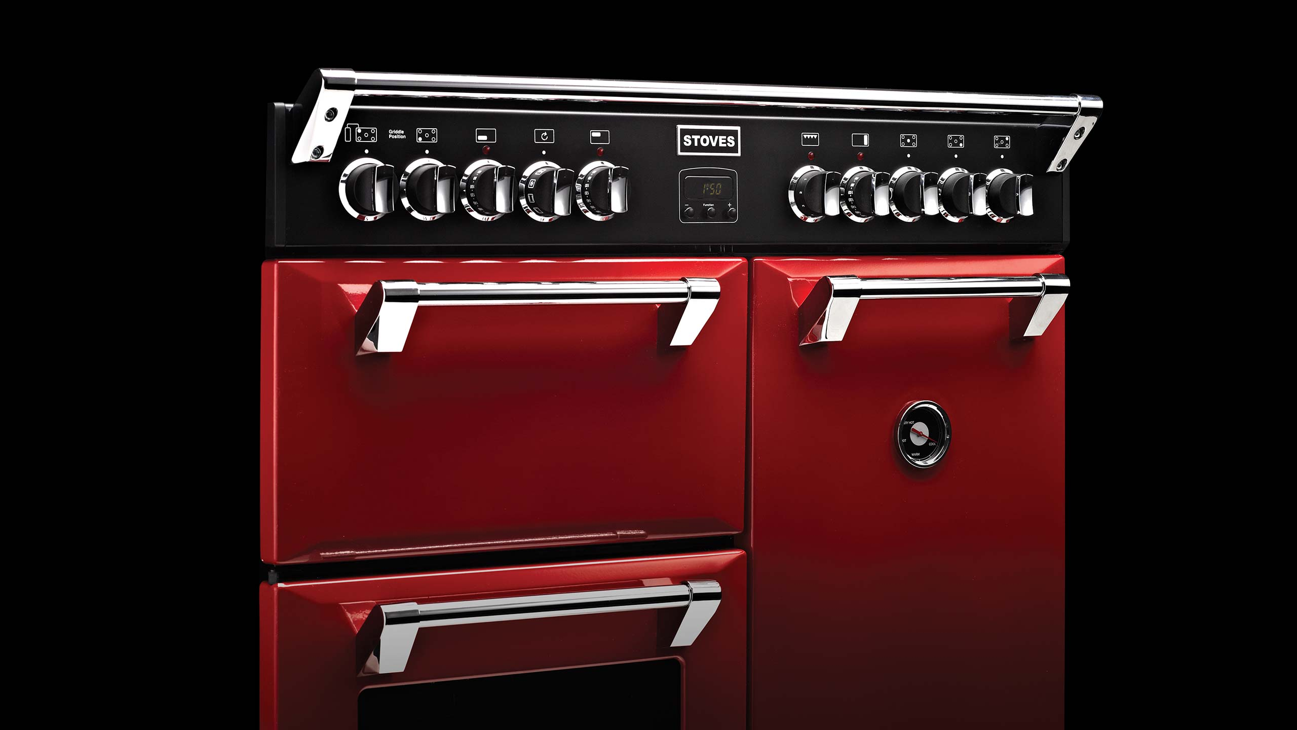 stoves red
