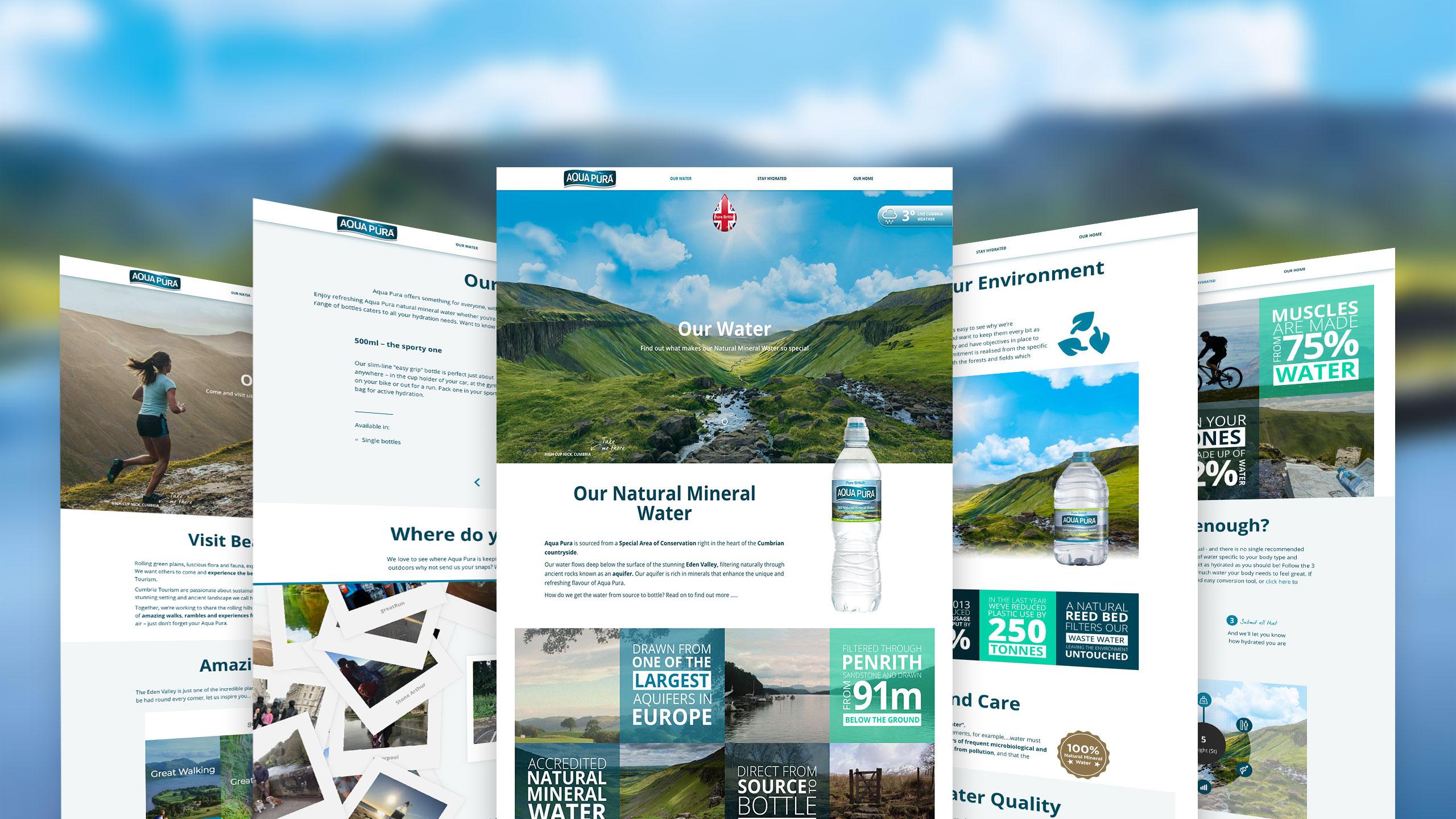 aqua pura website