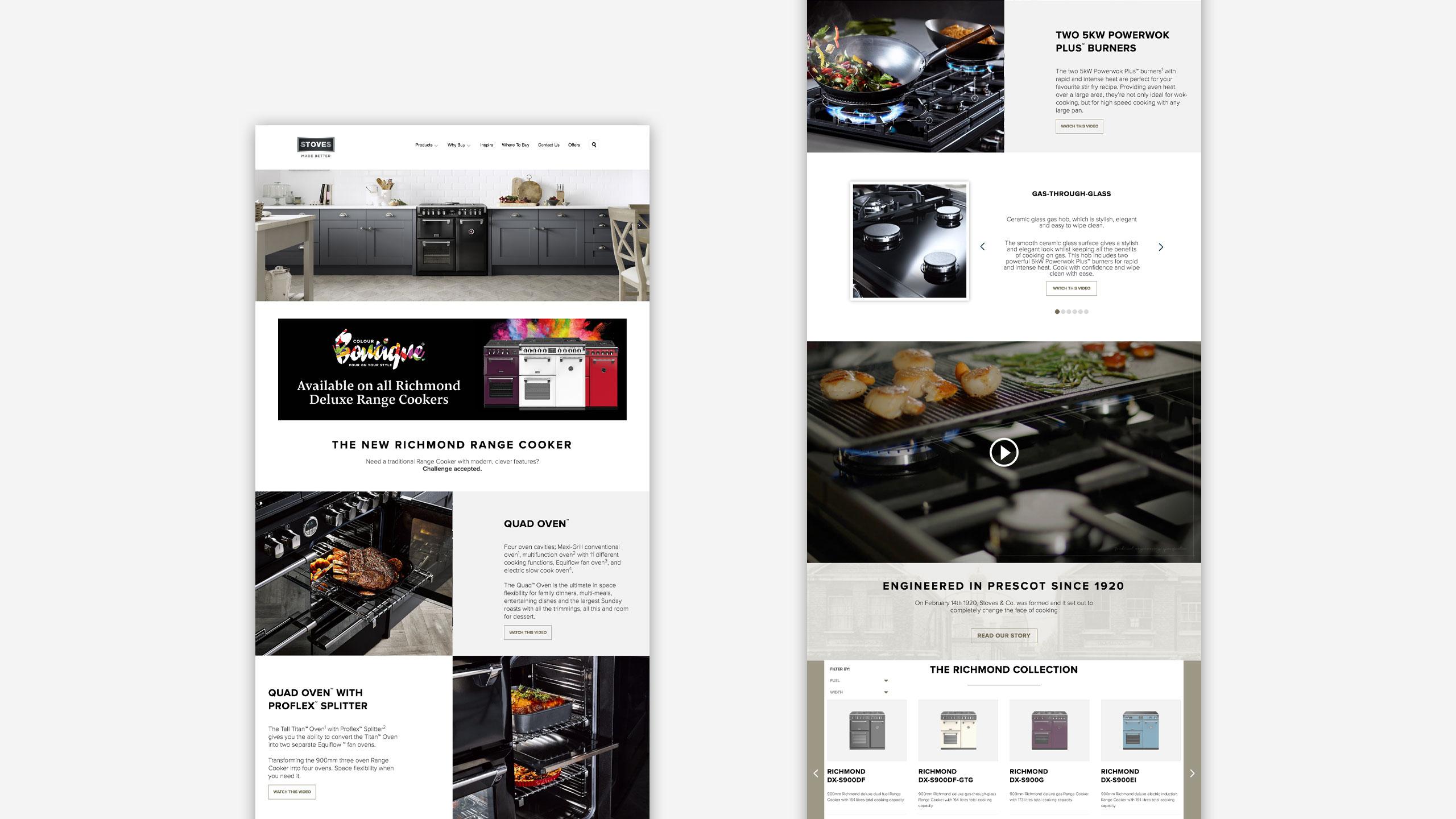 stoves website