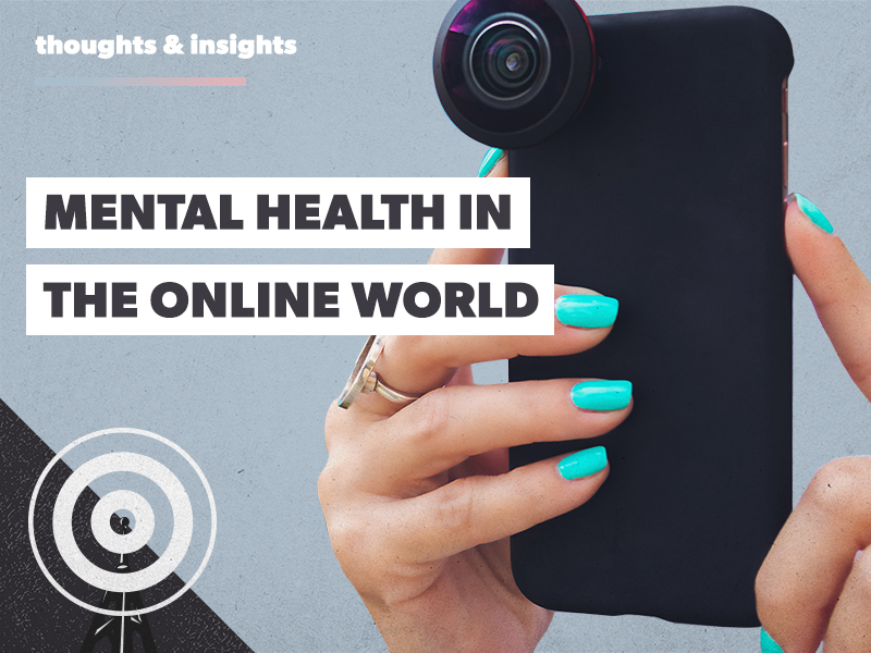 Hope Gorton discusses mental health in the online world