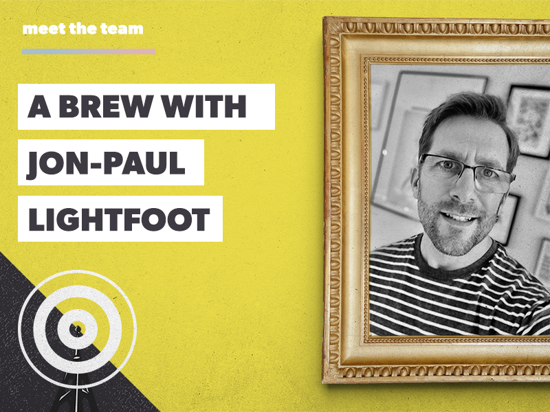A brew with Jon-Paul Lightfoot: A Packaging Guru