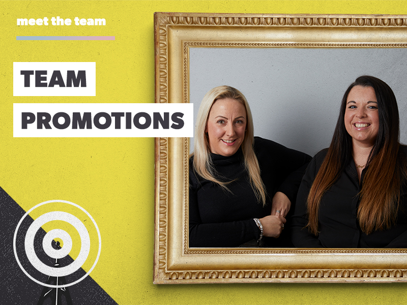 Promotions in the Client Services Team!