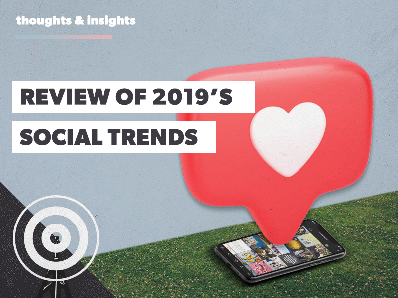 Expectations vs Reality: Our filter-free review of 2019's social trends