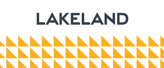 Lakeland Logo with Triangles 335 x 140 copy