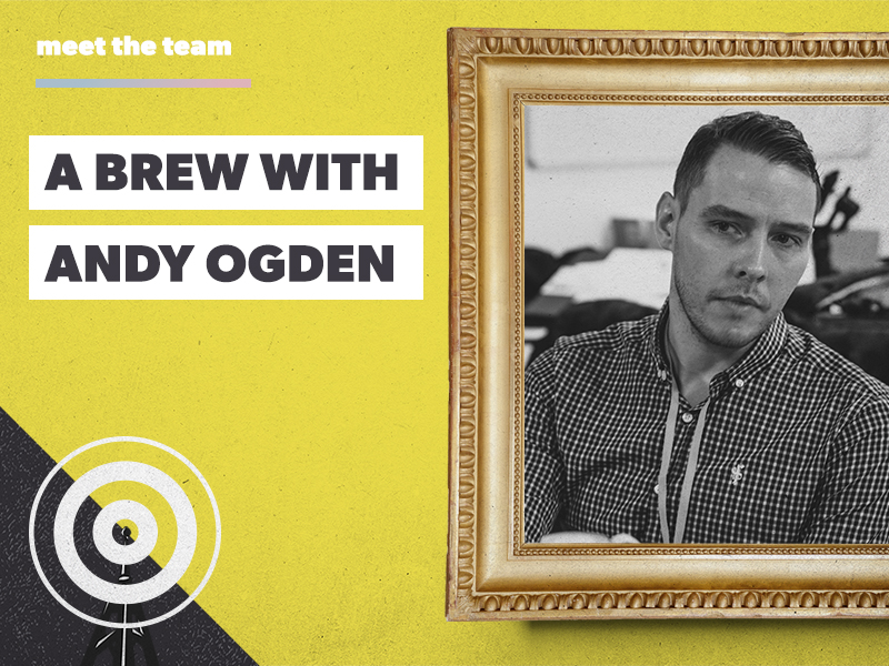 A brew with Andy Ogden: full-time creative, part-time comedian