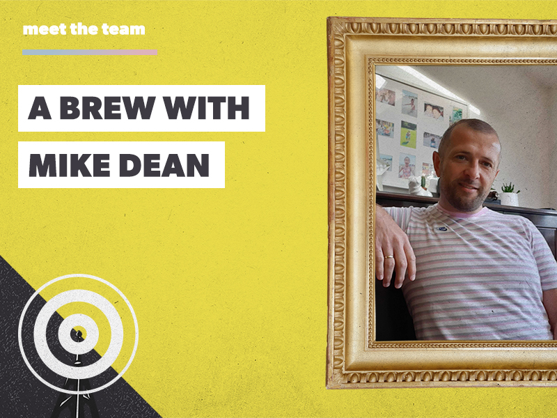 A brew with Mike Dean: a proper Manc, with a keen eye for creative detail