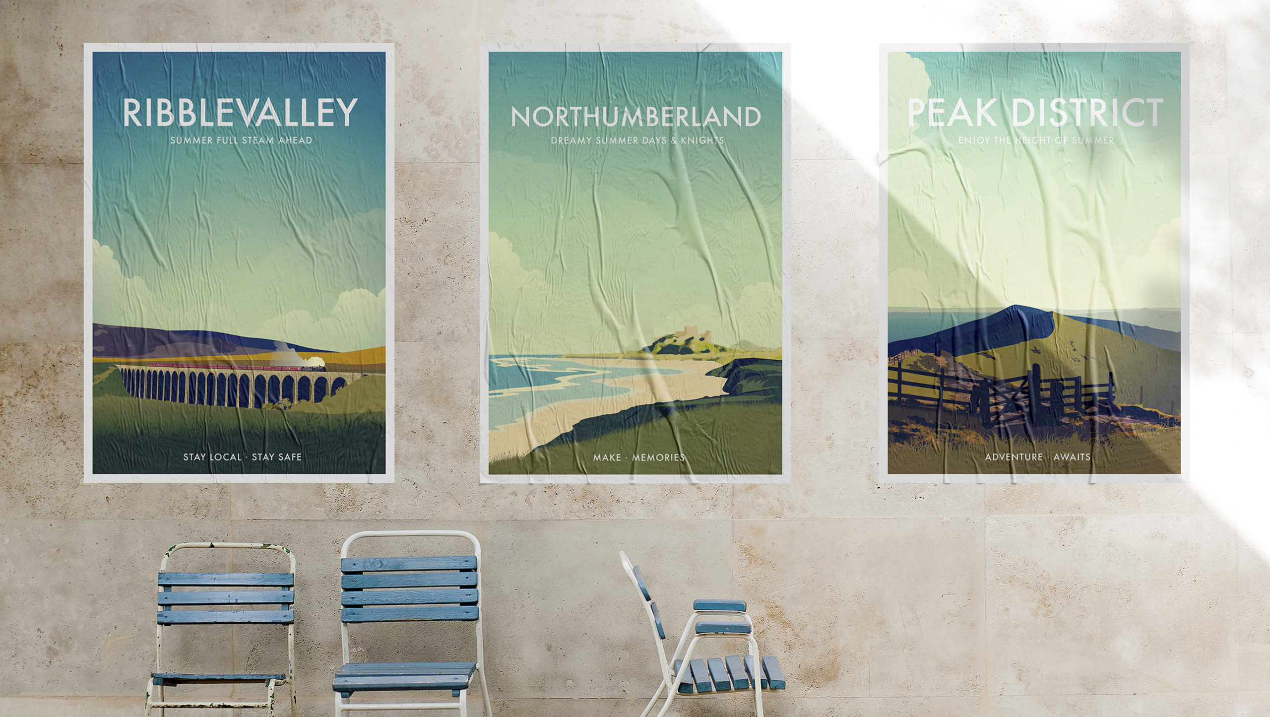 Summer Somewhere Special Posters