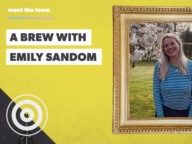 A brew with Emily Sandom: queen of content creation