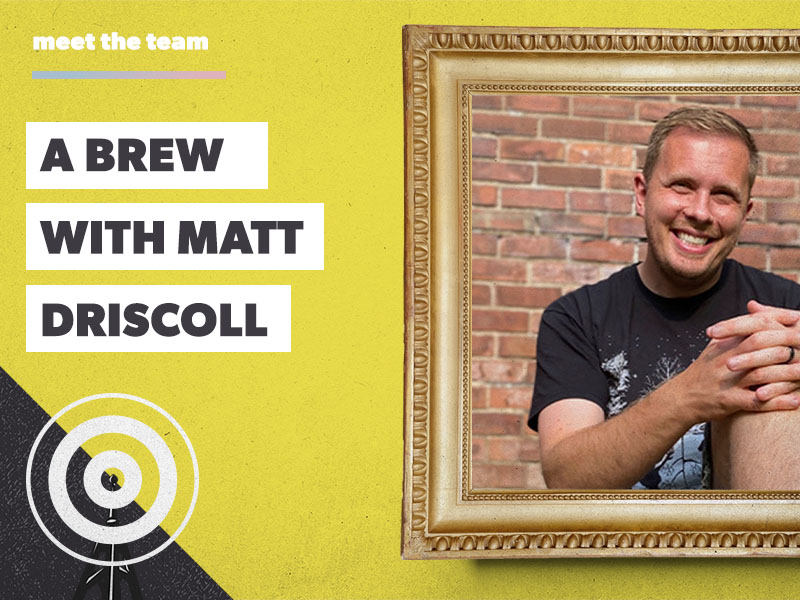 A brew with Matt Driscoll: a meticulous creative and self-proclaimed golf fanatic