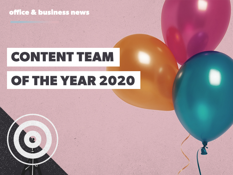 Content Team of the Year (we won!)