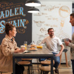 Sadler & Swain coffee shop area