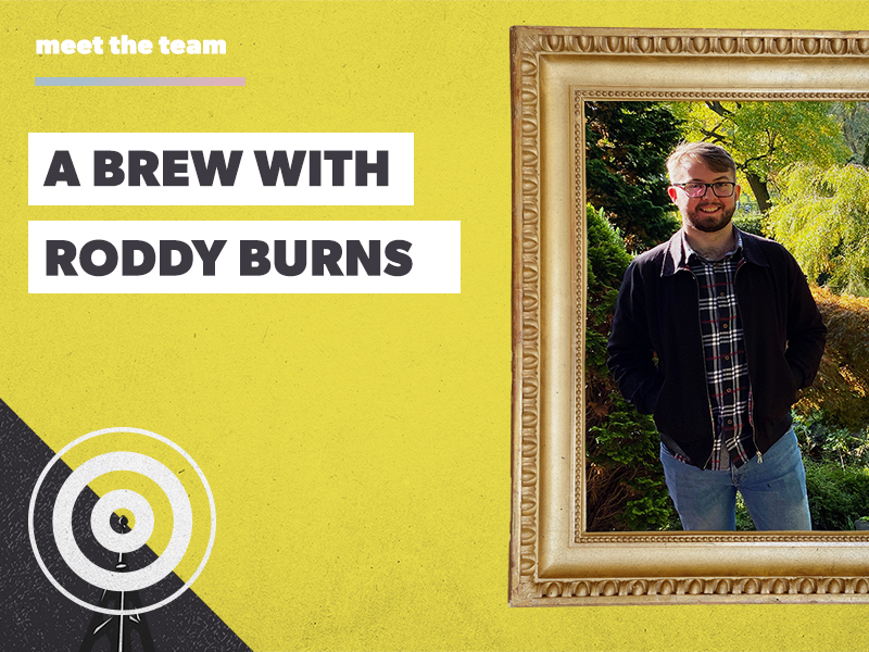A brew with Roddy Burns: expert in web clicks and Netflix
