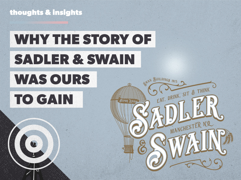 Sadler & Swain: the story behind the brand
