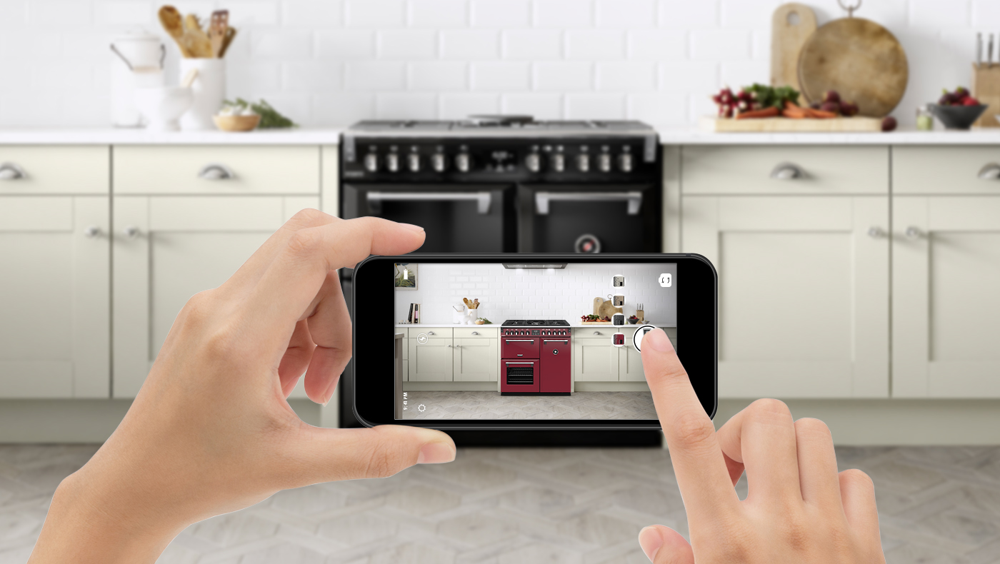 Stoves cooker social media content mock up