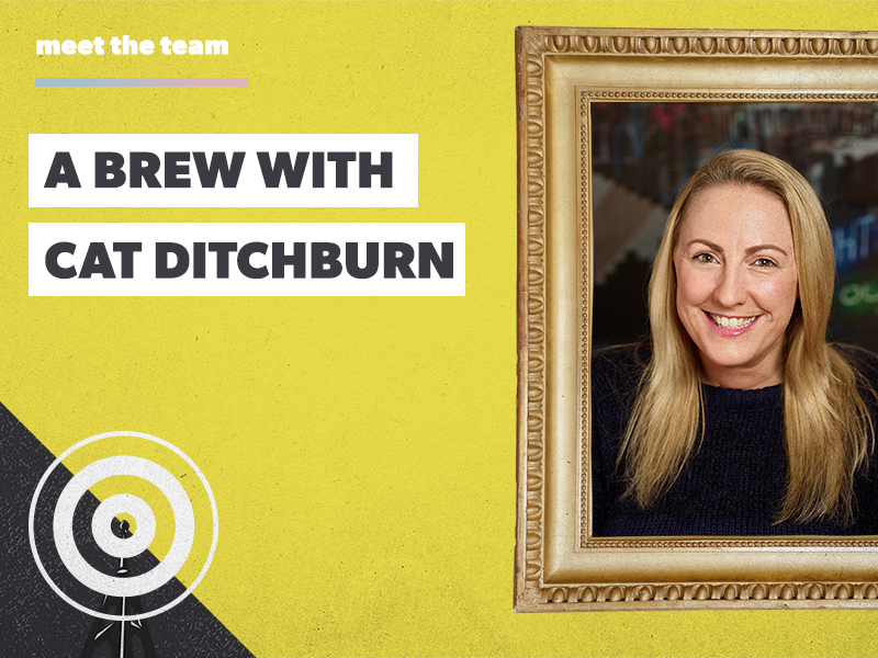 A brew (or 10) with Cat Ditchburn: an avid strategist and prosecco lover