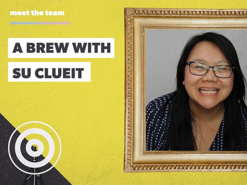 A brew with Su Clueit: our new Production & Planning Manager