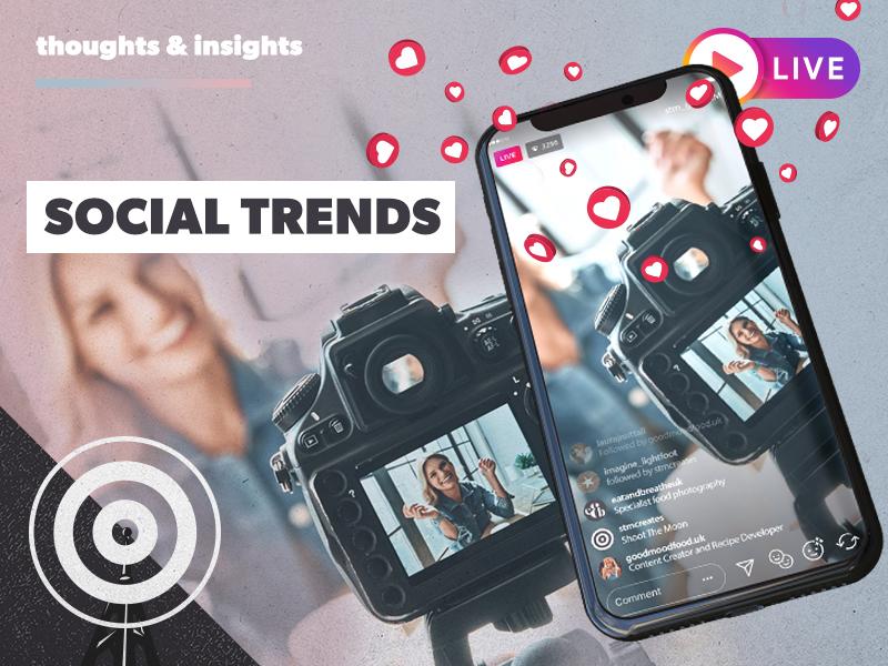 Social content: trending now