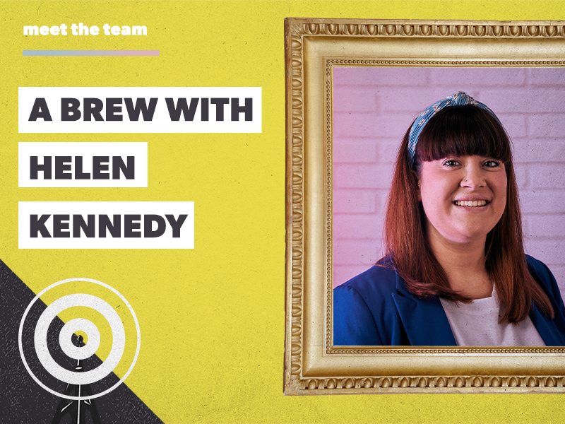 Helen: storyteller, foodie and our new Content Manager