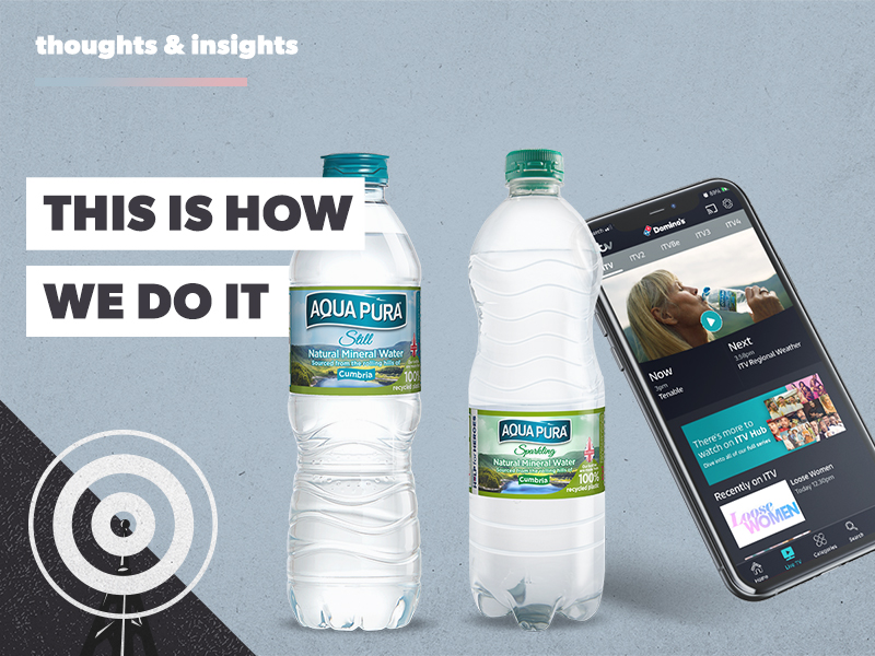 Behind the Scenes: 'Hydration for the Nation' campaign by Aqua Pura
