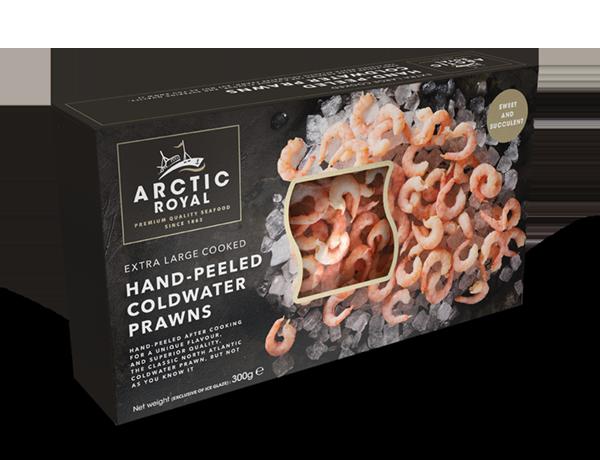 Arctic Royal Extra Large XL Coldwater Prawns C