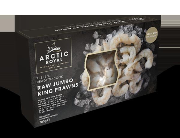 Raw Peeled Prawns Box C