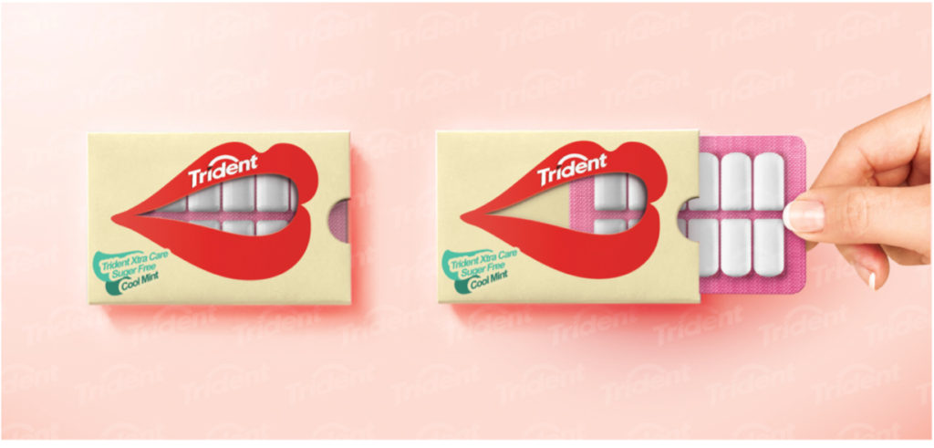 Trident Product Packaging Design